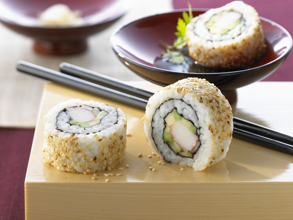 Sushi california 6pcs