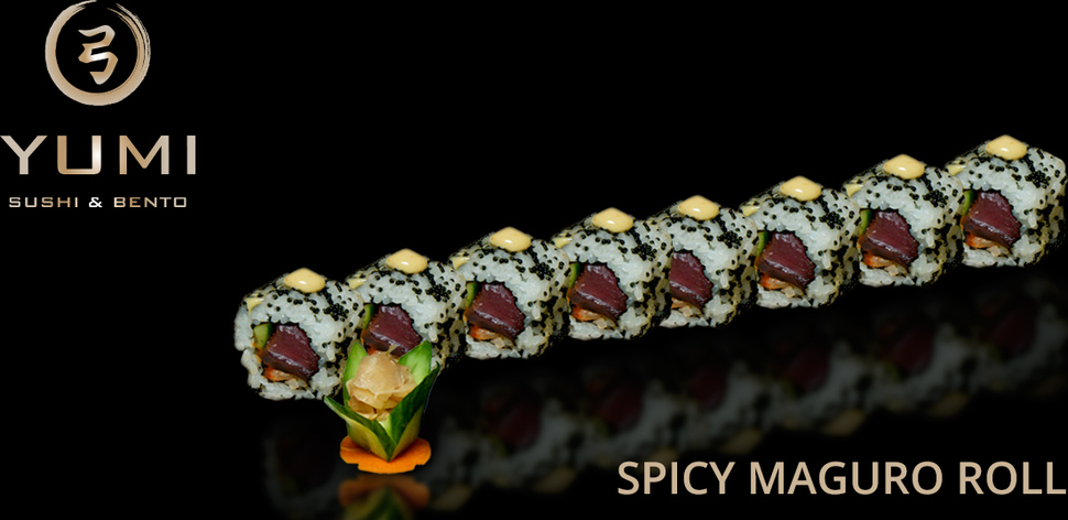 Spicy maguro roll