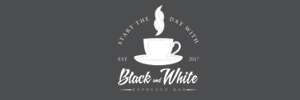 Black & White Espresso Bar